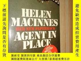 二手書博民逛書店Agent罕見in Place Helen MaclnnesY2