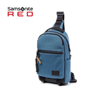 新品特價 Samsonite RED【ONSE HE0】斜肩包 單肩包 胸包 防盜扣環 Cordura布料 耐用耐磨
