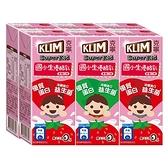 克寧國小生草莓優酪乳198ml*6入【愛買】