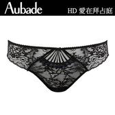 Aubade-愛在拜占庭L蕾絲丁褲(黑)HD