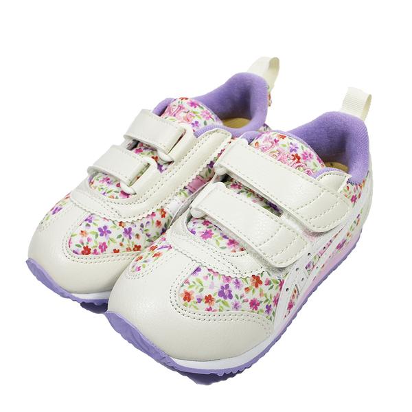 (B3) ASICS 亞瑟士 SUKU2 中童鞋 機能運動鞋 魔鬼氈 TUM187-500 紫碎花 [陽光樂活]
