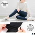 《KS0427》台灣製造~20%超彈力纖維純色運動褲/瑜珈褲--適 XL~5L OrangeBear