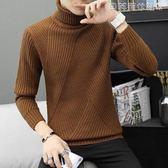 交換禮物高領毛衣男士加厚秋季2019提前上新新款針織衫外套韓版潮流修身冬季毛線衣