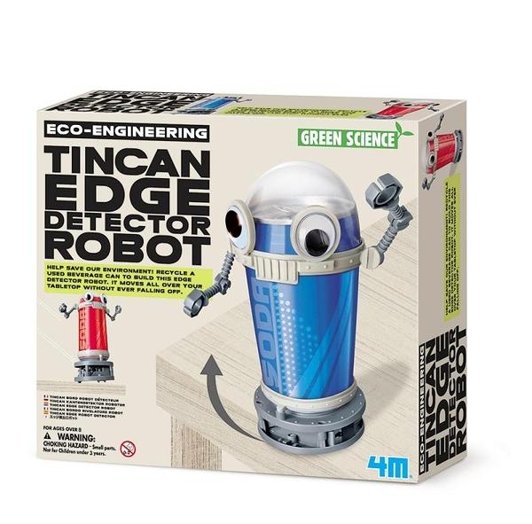 【4M】03370 科學探索-環保巡邏員 Tin Can Edge Detector Robot