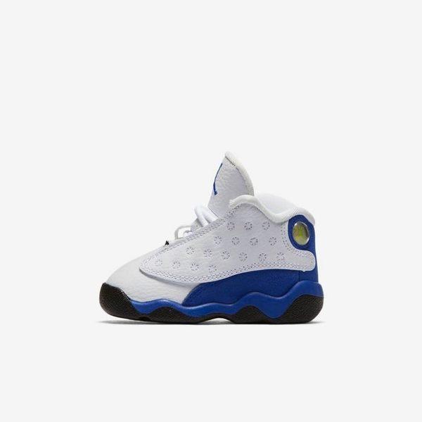 【現貨不用等】Nike Air Jordan 13 Retro BT Hyper Royal 白 藍 喬丹 運動鞋 13代 童鞋 小童鞋 籃球鞋 414581-117