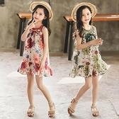 女童夏裝6兒童格子洋裝2020新款7中童8小女孩9夏天短袖裙子10歲 幸福第一站