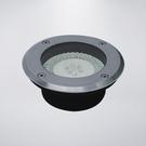 戶外防水地底燈 附LED43粒 旋轉跳閃 附預埋筒