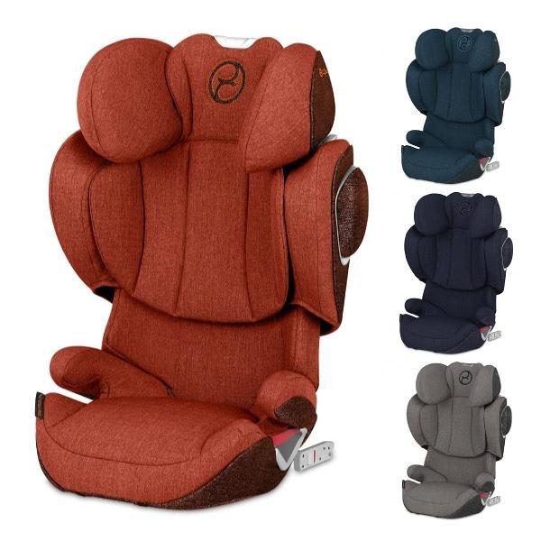 【輸碼RE500折500再享好禮雙重送】Cybex Solution Z-FIX PLUS 安全座椅/汽座 (4色可選)
