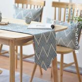 日式現代簡約桌旗布中式?意茶席茶巾美式茶幾北歐餐桌裝飾布長條