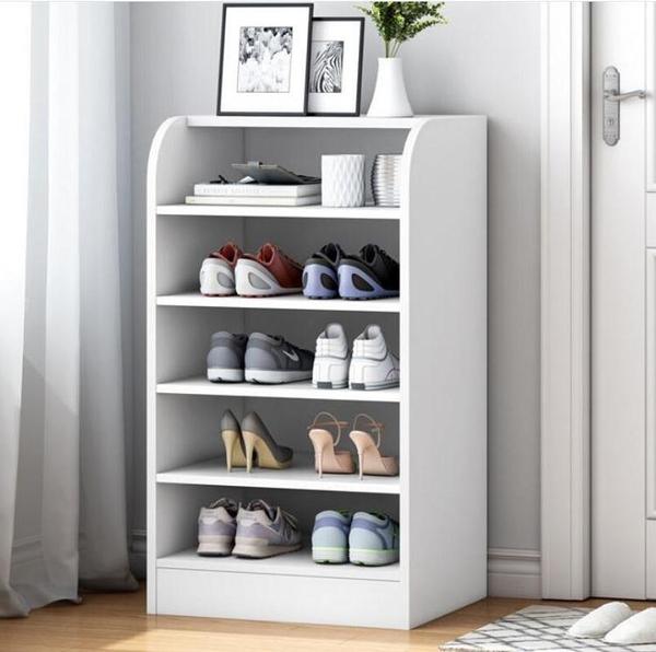 鞋櫃 鞋架簡易家用電梯門口經濟型室內好看大容量多層防塵置物架鞋櫃