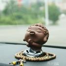 創意汽車擺件佛像車飾車載保平安車內飾品擺件可愛高檔裝飾用品 交換禮物