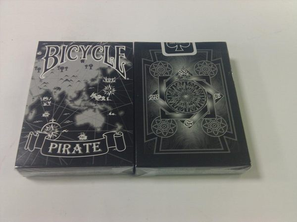 【USPCC撲克館】撲克牌BICYCLE Pirate 海盜 黑色