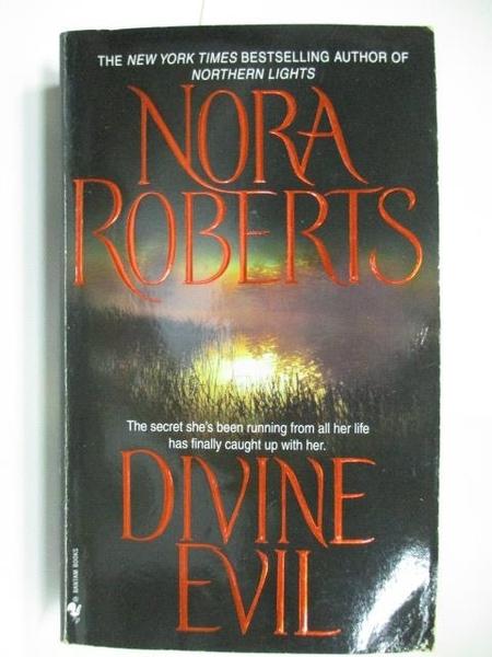 【書寶二手書T4/原文小說_AAU】Divine Evil_Nora Roberts