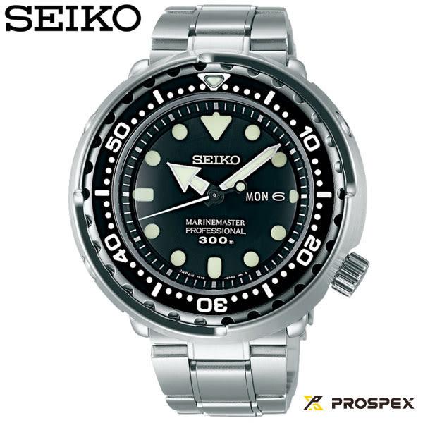 SEIKO PROSPEX 鮪魚罐頭300米鋼帶潛水錶 SBBN031J 7C46-0AG0C 公司貨保固2年 | 名人鐘錶高雄門市