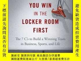 二手書博民逛書店You罕見Win in the Locker Room First: The 7 C s to Build a W