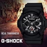 【人文行旅】G-SHOCK   GA-201-1ADR 潮流黑武士
