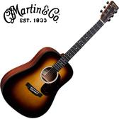 Martin DJr-10 Burst 錫特卡雲杉單板 嚴選沙比利木背側面板吉他 - 附琴袋/原廠公司貨