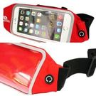 DOERDO  紅色  運動手機防水腰包市價580
