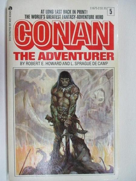 【書寶二手書T1/原文小說_B8A】Conan the Adventurer