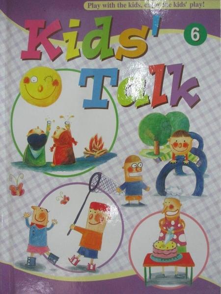 【書寶二手書T6/語言學習_BVR】Kids Talk英語養成計畫6