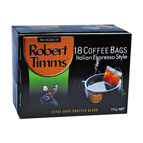 Robert Timms義式濾袋咖啡5.83*18【愛買】