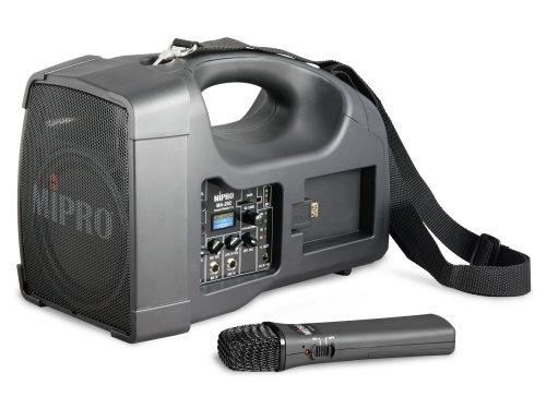 MIPRO MA-202B 旗艦型肩掛式無線喊話器 攜帶式擴音機/教學機 附一支無線麥克風ACT-222T