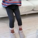 女童打底褲 女童冬裝加絨加厚外穿打底褲子新款洋氣正韓潮兒童裝寶寶長褲-Ballet朵朵