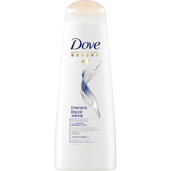 多芬深層修護洗髮乳340ml 【康是美】