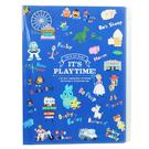 KAMIO A4 多層檔案附夾鏈袋資料夾 文件夾 迪士尼 玩具總動員4 主題樂園_KM17398