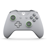 [哈GAME族]免運費 可刷卡 微軟 XBOX ONE 灰色/綠色 原廠無線控制器 3.5mm耳機接頭 藍牙控制器