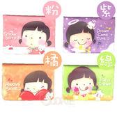 韓國 餅乾女孩可愛卡片包 卡片夾 名片夾 證件夾【庫奇小舖】
