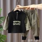 男童秋裝套裝兒童春秋季2020新款洋氣寶寶帥氣小童炸街潮流兩件套 蘿莉新品