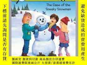 二手書博民逛書店Case罕見of the Sneaky SnowmanY362136 Carolyn Keene Car...