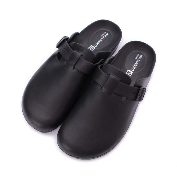 包頭室外拖鞋 黑 MA86 男鞋 鞋全家福