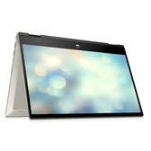 HP Pavilion X360 14-DW0049TU 翻轉觸控14吋筆電(金)【Intel Core i5-1035 G1 / 8GB記憶體 / 512G M.2 SSD / Win 10】