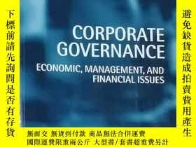 二手書博民逛書店Corporate罕見Governance: Economic