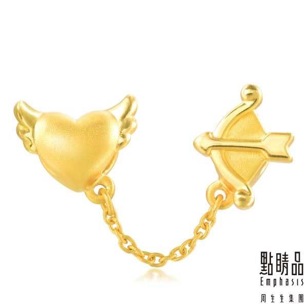 點睛品Charme系列 黃金串飾 愛神邱比特
