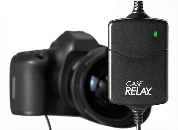 呈現攝影-CASE Relay 數位相機不斷電供電器組 7.4V 內建電池1200mAh 5V行動電源 假電池 縮時/錄影