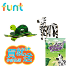 [媽咪可兒]韓國Funt英文字母立體拼圖(烏龜+斑馬)_送精美故事書