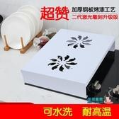 電磁爐支架 電磁爐支架底座廚房置物架微波爐電鍋支架灶蓋板電鍋支架收納