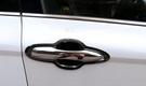 【車王汽車精品百貨】TOYOTA CAMRY 8代 八代 不銹鋼 黑鈦 門碗 防刮 保護貼 全包