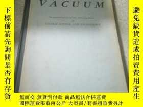 二手書博民逛書店VACUUM罕見The Internationl Journal