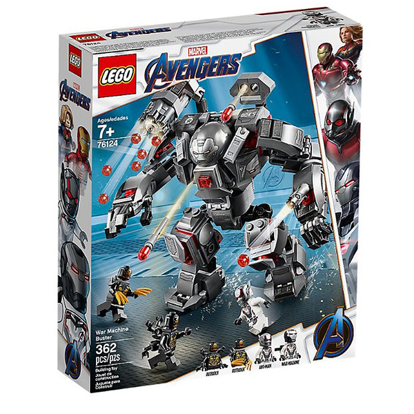 76124【LEGO 樂高積木】Super Heroes 超級英雄系列-War Machine Buster(365pcs)