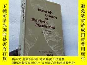 二手書博民逛書店Materials罕見Science of Synthetic
