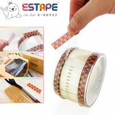 【ESTAPE】抽取式OPP封口透明膠帶|貓爪|32入(40mm x 55mm/易撕貼)