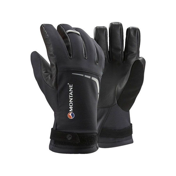 [MONTANE] Thermostretch 保暖彈性軟殼手套 黑 (MTHGLBLA-BL)