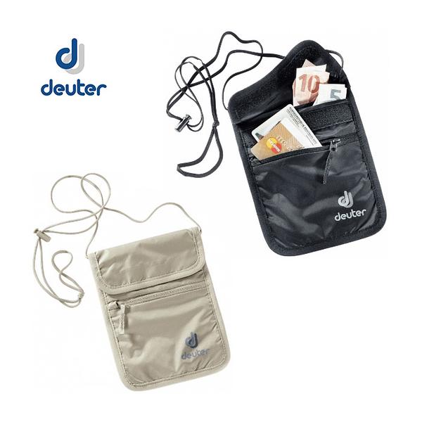 丹大戶外用品 德國【Deuter】Security Wallet II 隱藏式錢包 3942116 卡其/黑
