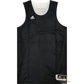 Adidas 愛迪達 球衣 黑 白 雙面穿團體籃球服 球衣 透氣 上衣 刺繡 無袖 背心 t恤 CD8699