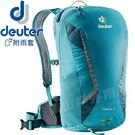 Deuter 3207118_淺藍  Race X 12L雙肩自行車背包 休閒背包/旅遊背包/運動後背包/單車背包