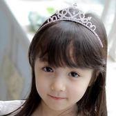UNICO 韓版 兒童甜美皇冠水鑽造型髮箍